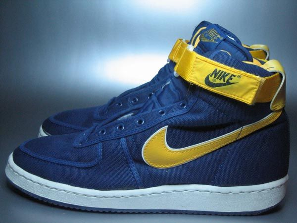 Nike Vandal High: Blue/Yellow