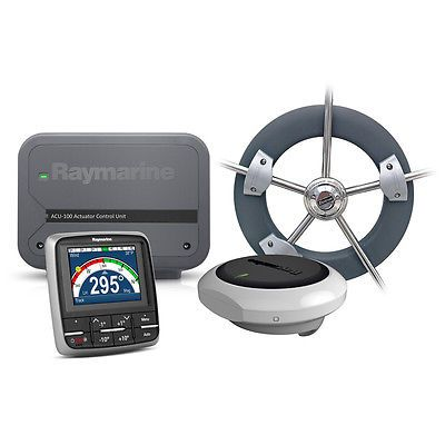 Other Vehicle Electronics: Raymarine Ev-100 Wheel Evolution Autopilot [T70152] BUY IT NOW ONLY: $1346.35