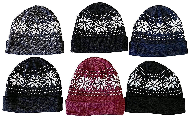 37729322183 Men Women Beanies Warm Winter Work Snowboarding Assorted Colors Six Pa –  Valentafashion