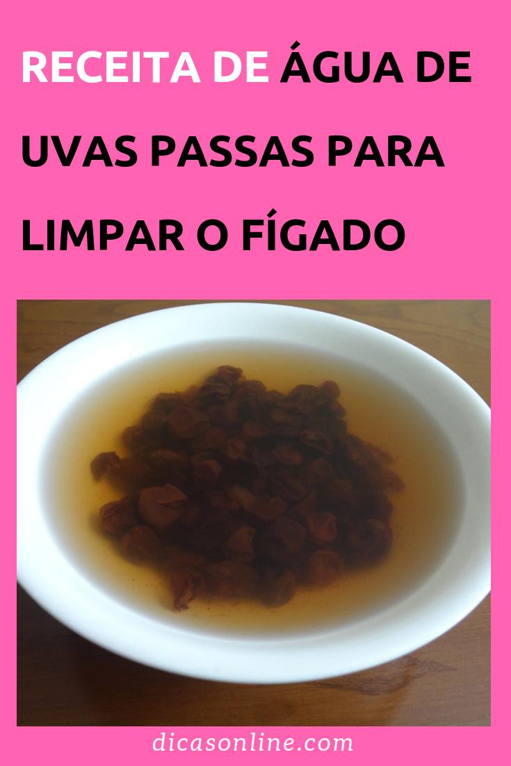 Agua De Uva Passa Para Emagrecer como preparar água de uvas passas para limpar o fígado e