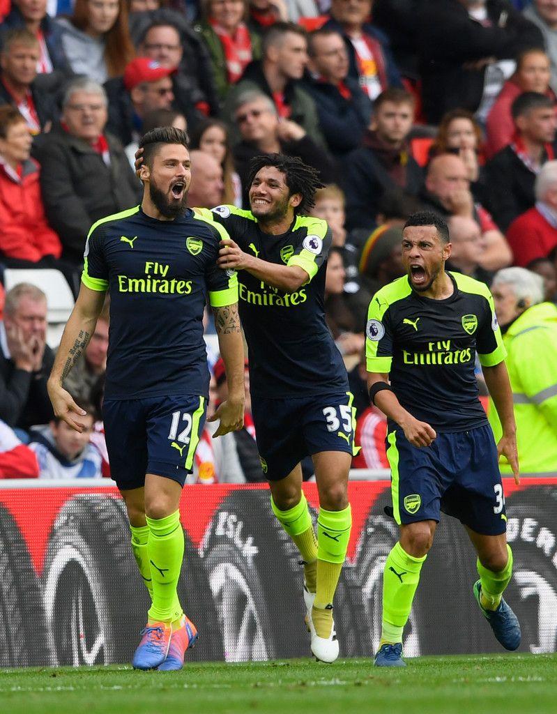 Olivier Giroud Photos Photos - Sunderland v Arsenal - Premier League - Zimbio