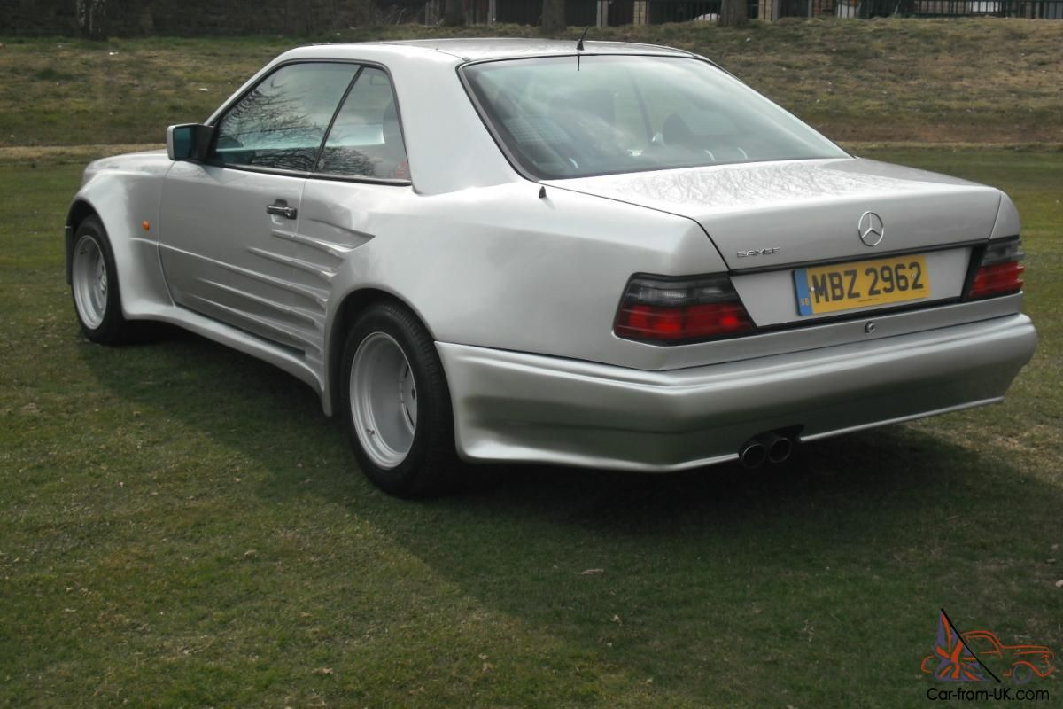 MERCEDES 300 CE TWIN TURBO 24 VALVE SPORTLINEVery reluctant