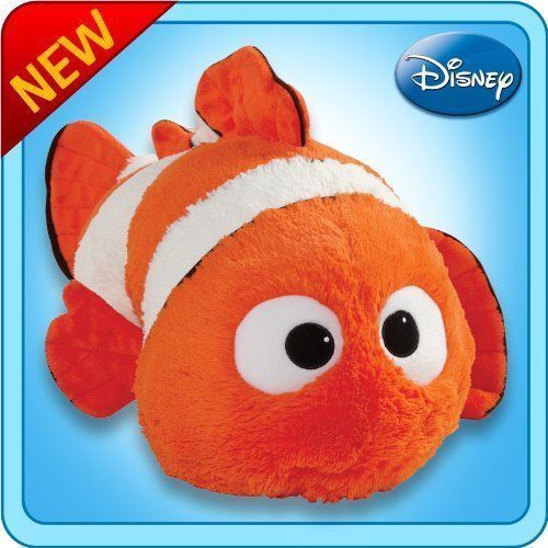 "pillow pets authentic #disney 18"" finding nemo folding plush pillow large from $29.99"