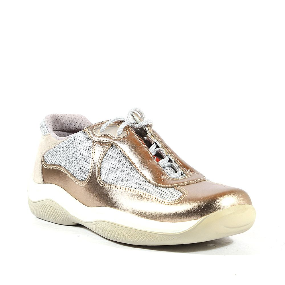 Prada Sports leather Sneakers shoes for Women (PRW42)  7c06d57452e