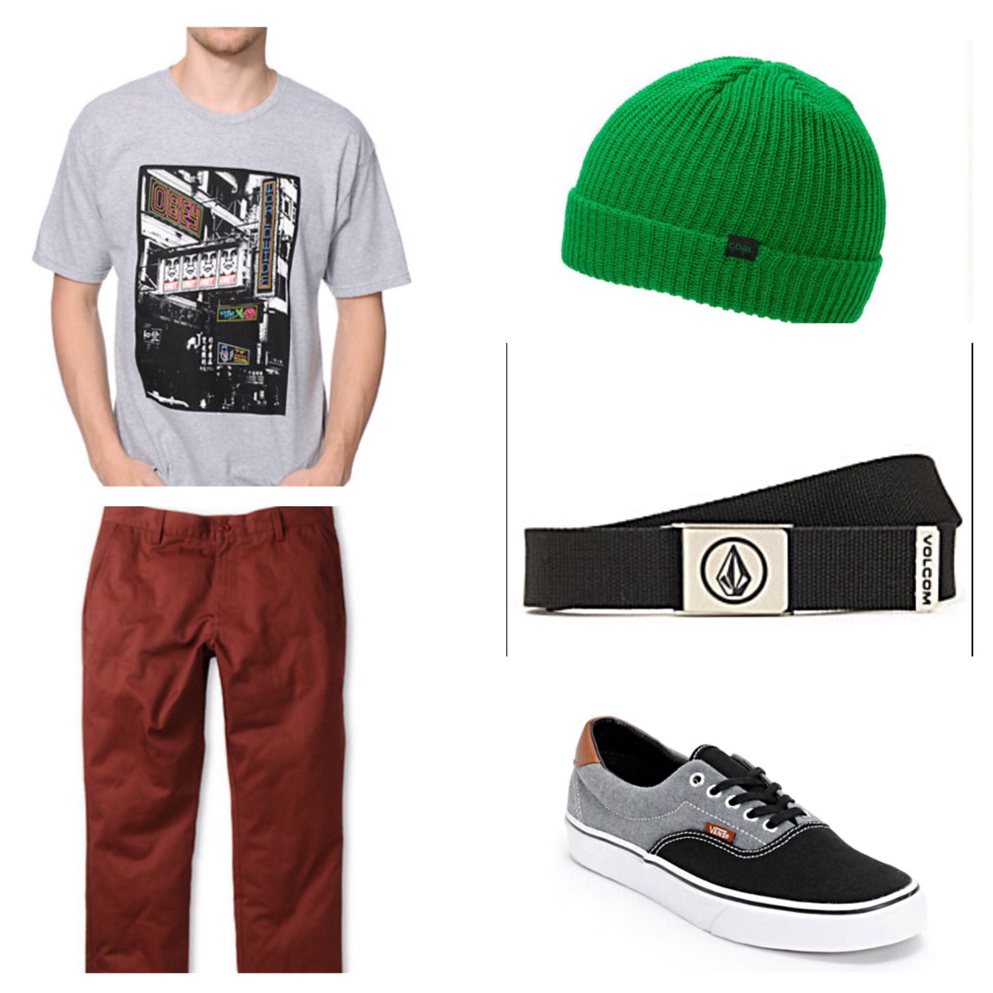 Entire outfit from Zumiez website. Can find each piece under men's  category. Can find