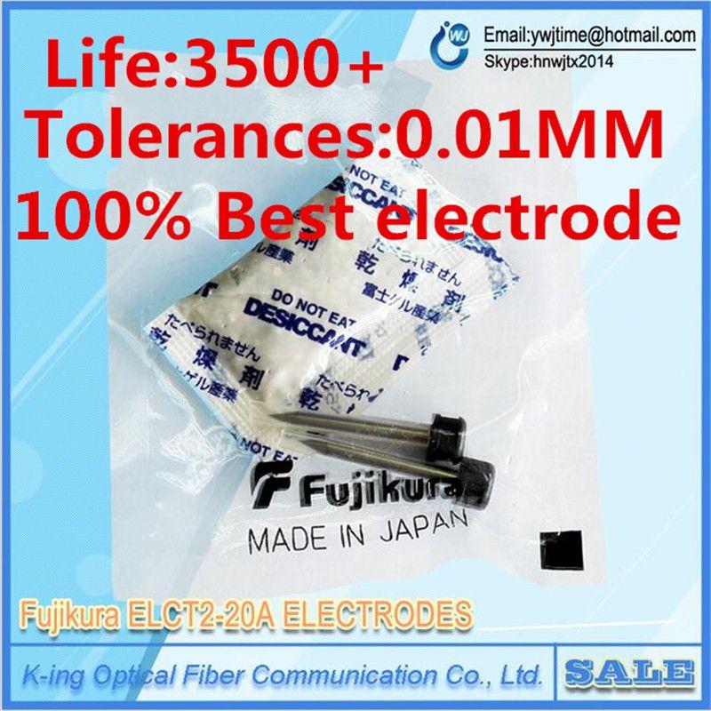 원래 후지 쿠라 ELCT2-20A 전극 FSM-50S FSM-60 FSM70S fsm-80S fsm-62S FSM60s FSM80s 광섬유 융착 접속기 전극 낚싯대