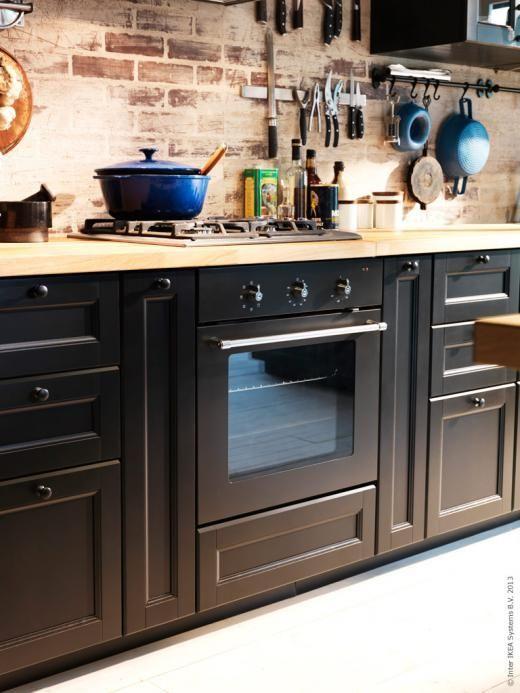 Ikea Kitchen Black laxarby kitchen - google search   kitchen   pinterest   google