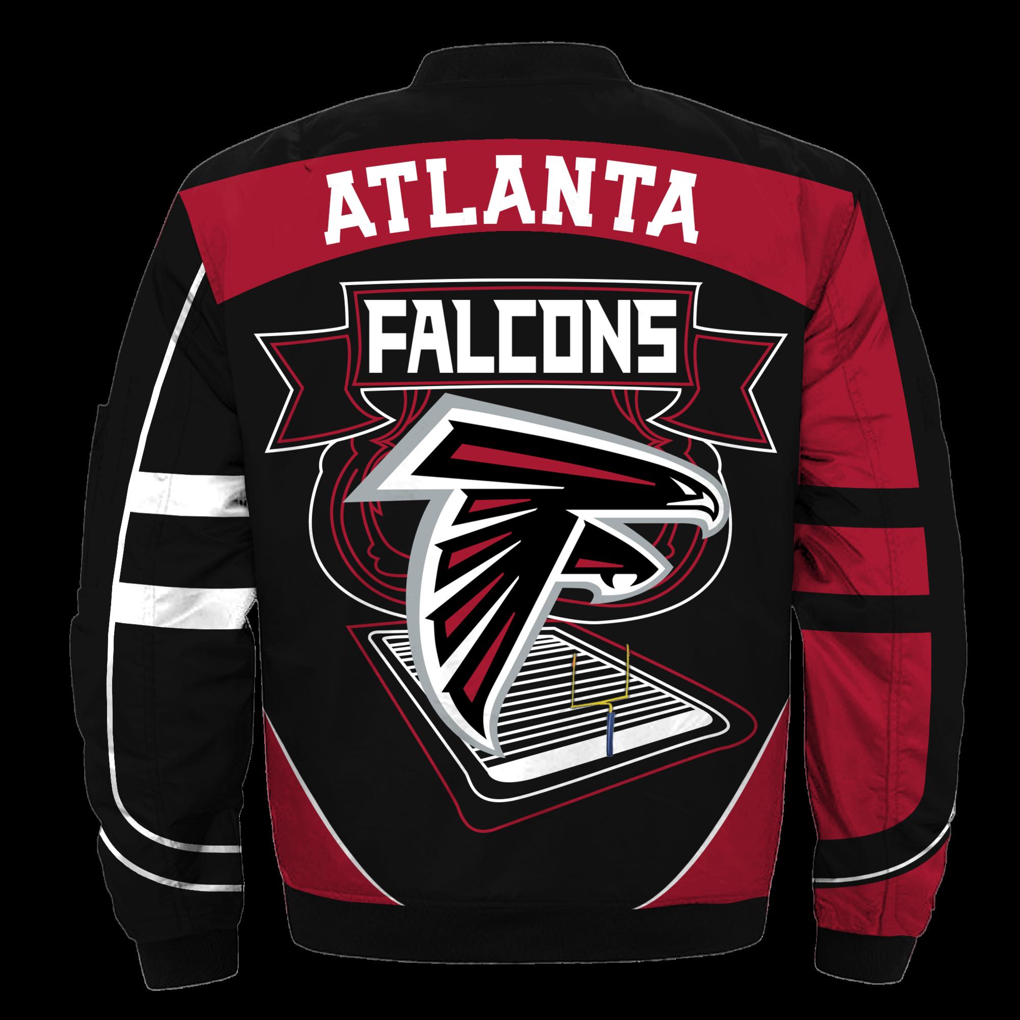Atlanta Falcons Bomber Jacket Nfl Atlanta Falcons Apparel Nfl Futbol Americano Americana
