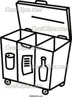 Recycling Bin Clipart Christina Aguilera Period Accident Man