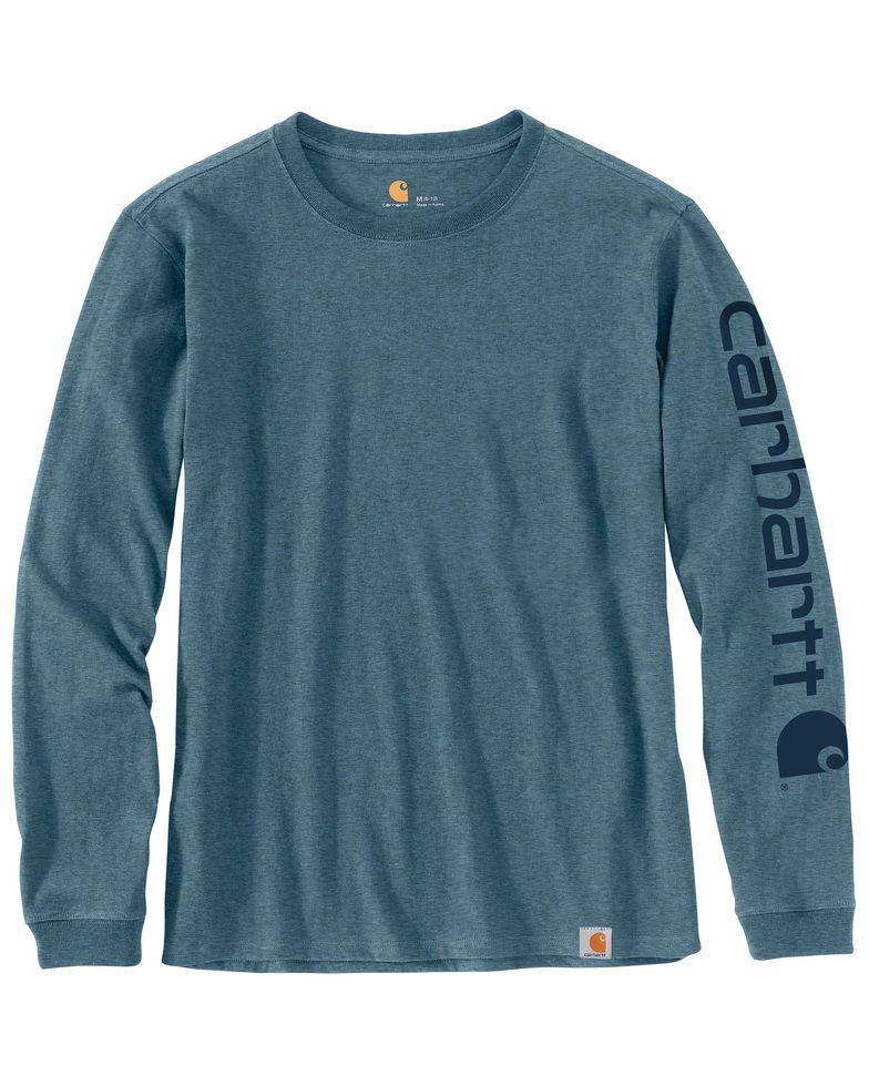 Carhartt Women's Workwear Sleeve Logo Long-Sleeve T-Shirt