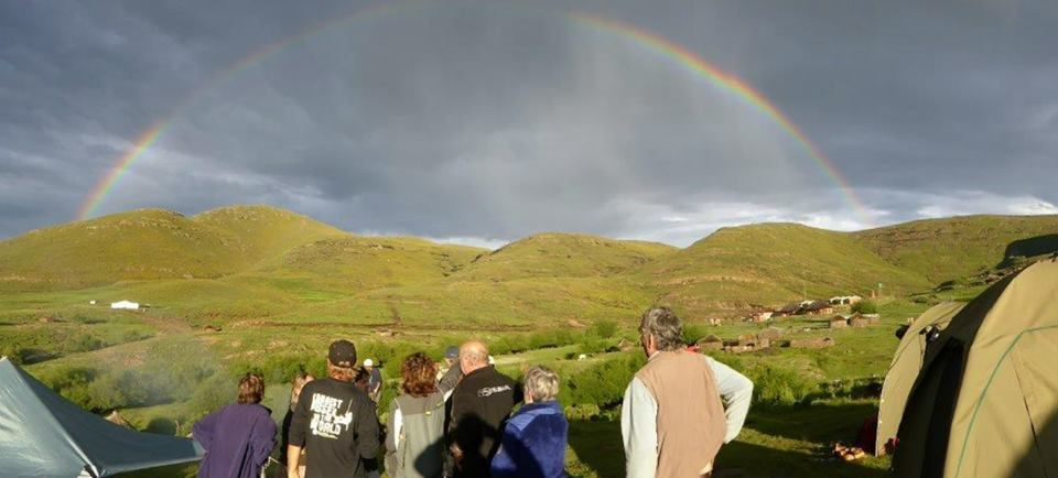 Camping along the 7-day Pony trail through the remote yet incredible untouched land of Lesotho.