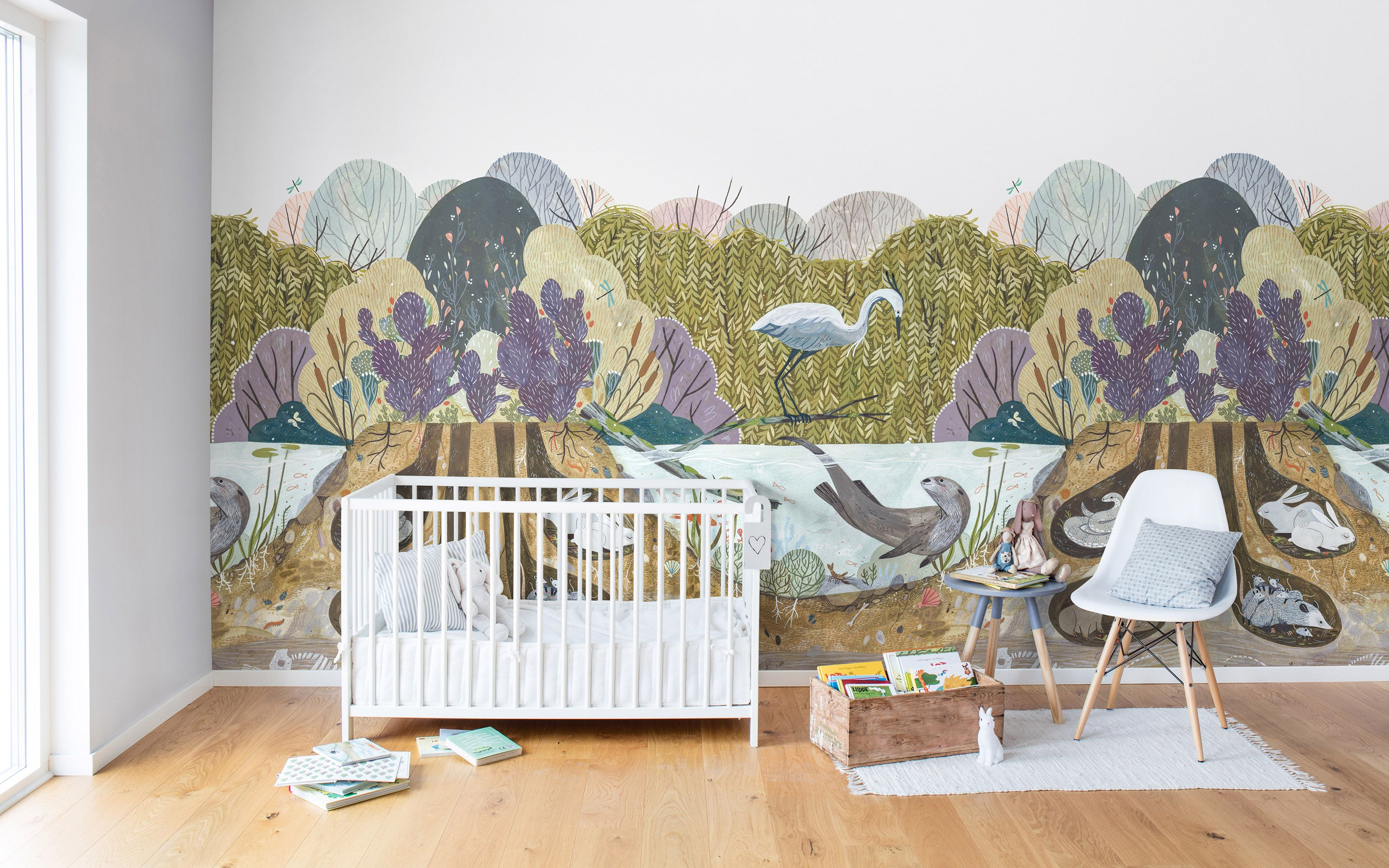 Wanddeko Kinder Wild Willows Tapeten Für S Kinderzimmer Wall Nursery