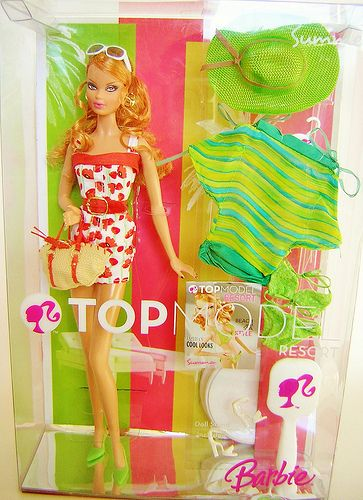 Top Model Resort Summer 2007 Barbie Top Famous Fashion Barbie 2000
