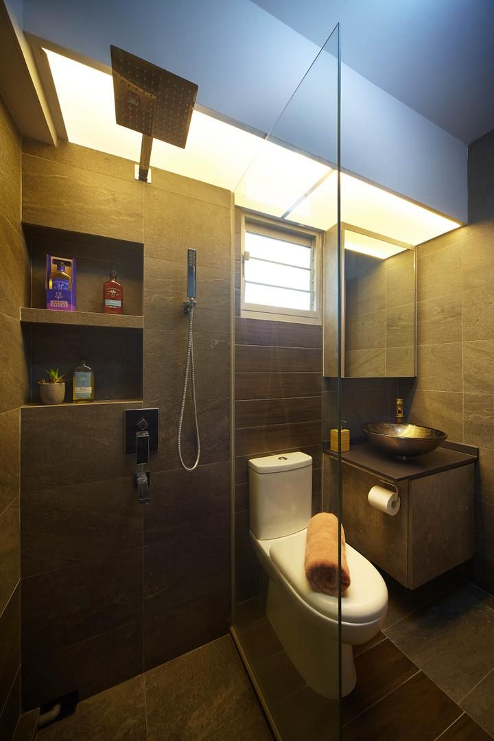 Minimalist Hdb Design: Check Out This Minimalistic-style HDB Bathroom And Other