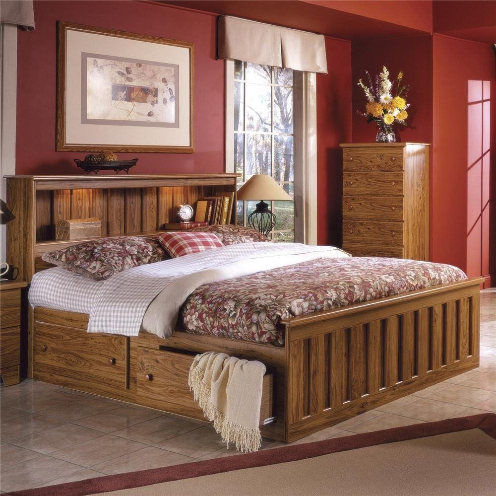 Image result for storage beds full size with drawers