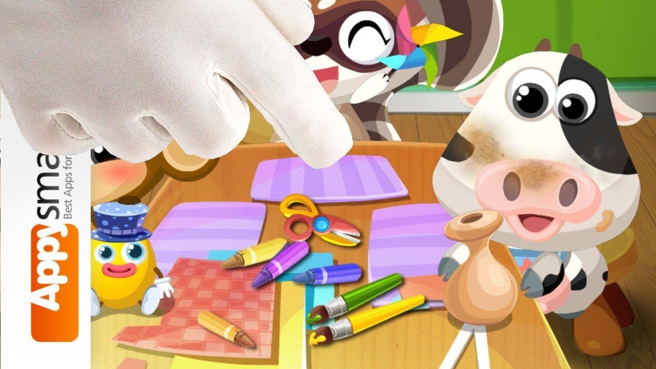 Preschool DIY and Craft Games with Dr. Panda Art Class