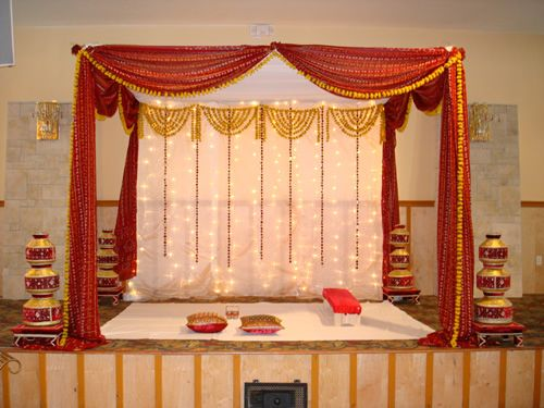 East Indian Design Images Mandap Is Used In Traditional Indian Weddings