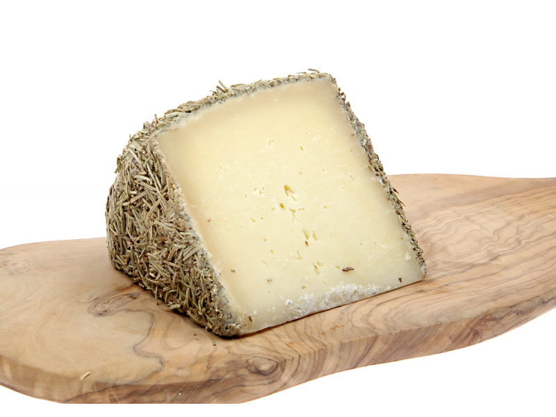 Buy Rosemary Cured Cheese 6 Months Old Pasteurised 150g Wedge Online From Ibericaspanishfood Co Uk Cheese Milk And Cheese How To Make Cheese