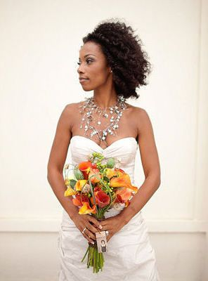 CurlsUnderstood.com: Natural Hair Brides. AYANNA AND NICHOLAS
