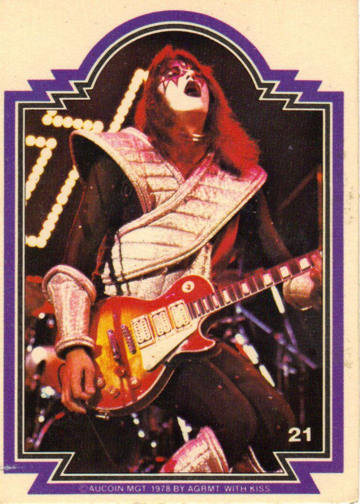 Pin By Anthony Taylor On Kiss Donruss Bubblegum Cards Ace