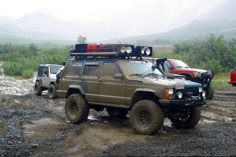 Xj Roof Racks Expedition Portal Off Road 4x4 Travel
