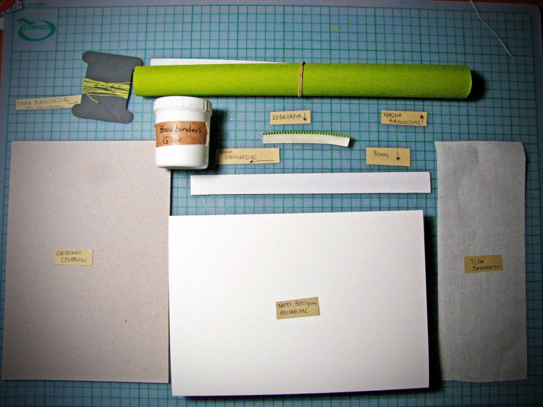 Complete Bookbinding kit for Full PL Leather Cased Journal