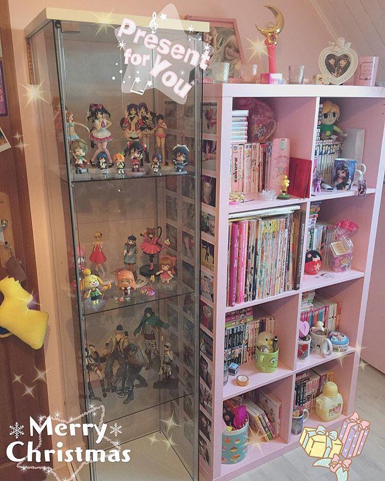 Cute anime room Cute room decor, Cute room ideas, Kawaii