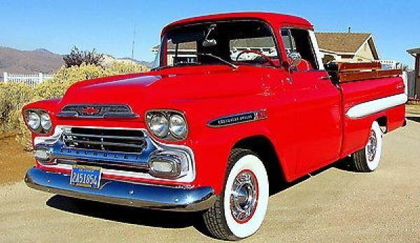 58 Chevy Apache