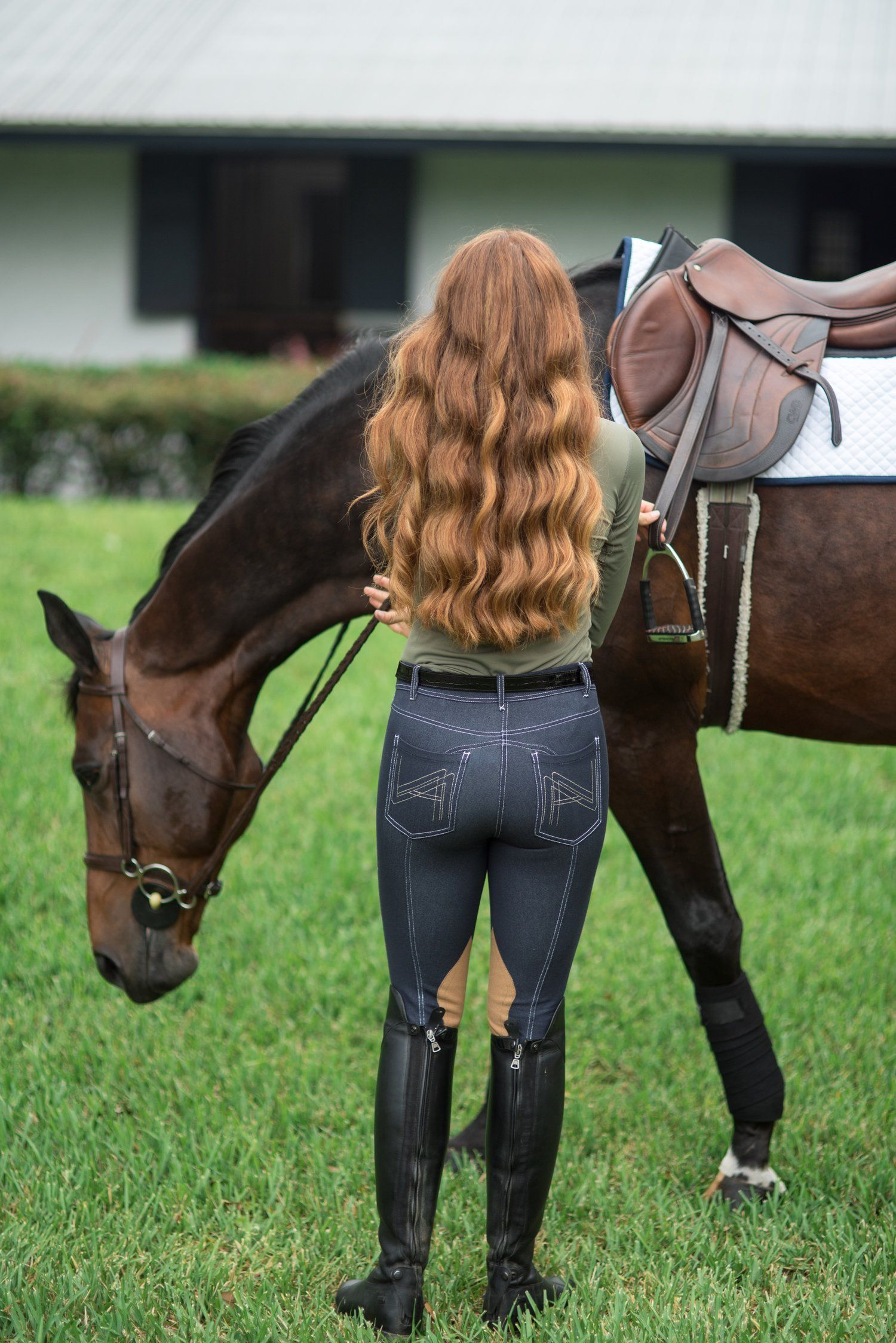 😋😊😊😊😊😍 | Equestrian style, Equestrian outfits, Horse