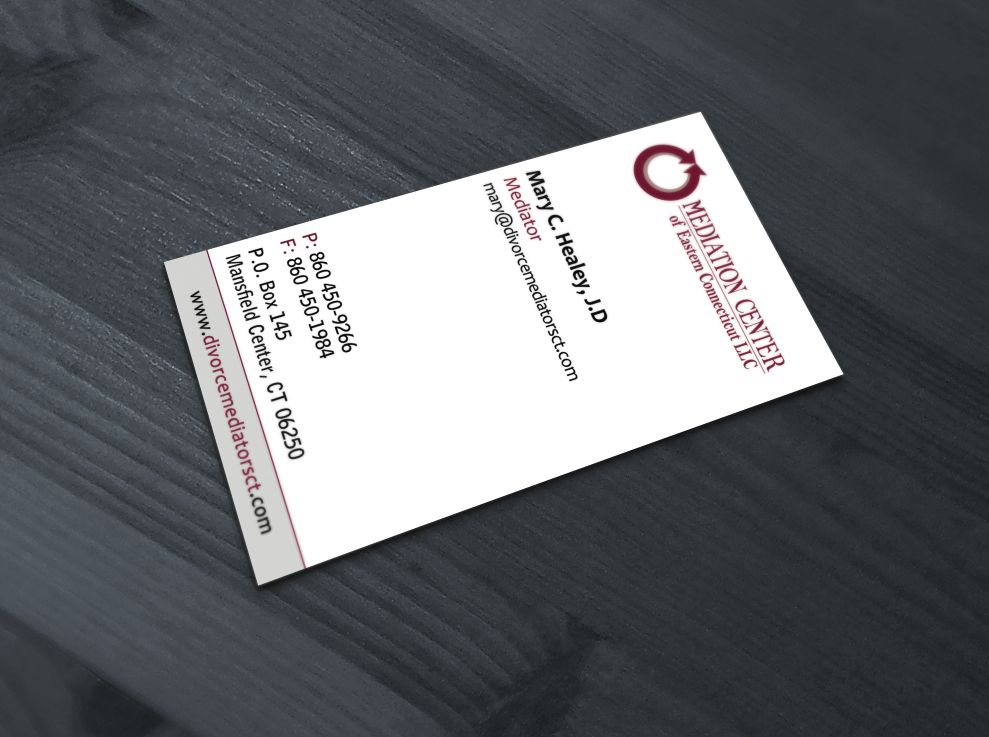 Mediator business card business cards pinterest mediator business card colourmoves