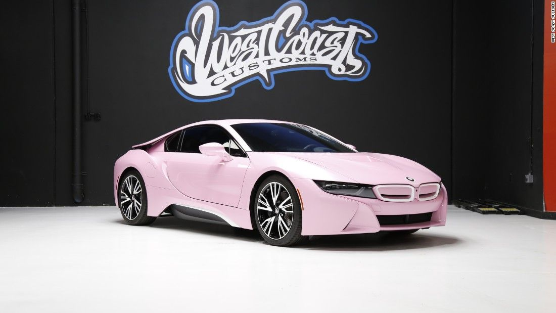 Photos West Coast Customs Celebrity Cars This Pink Bmw I8 Was