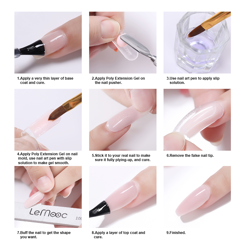 Uv Cured Acrylic Nails