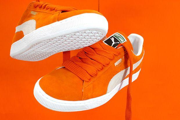 puma orange