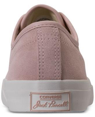 73a17359212f Converse Men s Jack Purcell Jack Ox Casual Sneakers from Finish Line - Pink  10.5