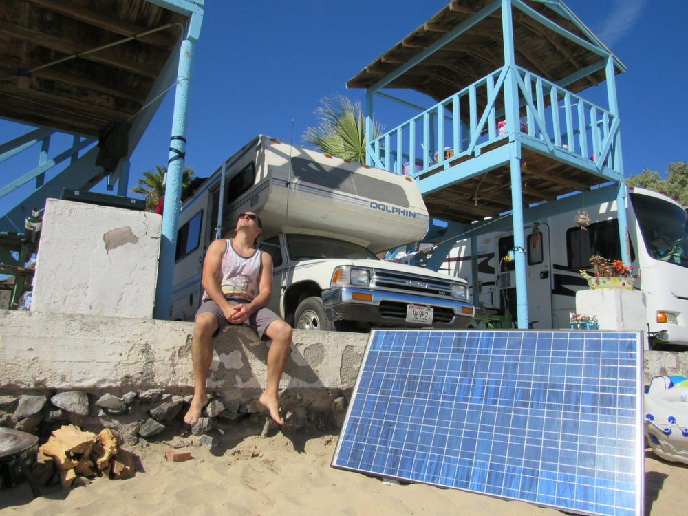 Make Your Rooftop Rv Solar Panel Movable Rv Solar Panels Rv Solar Solar Panels