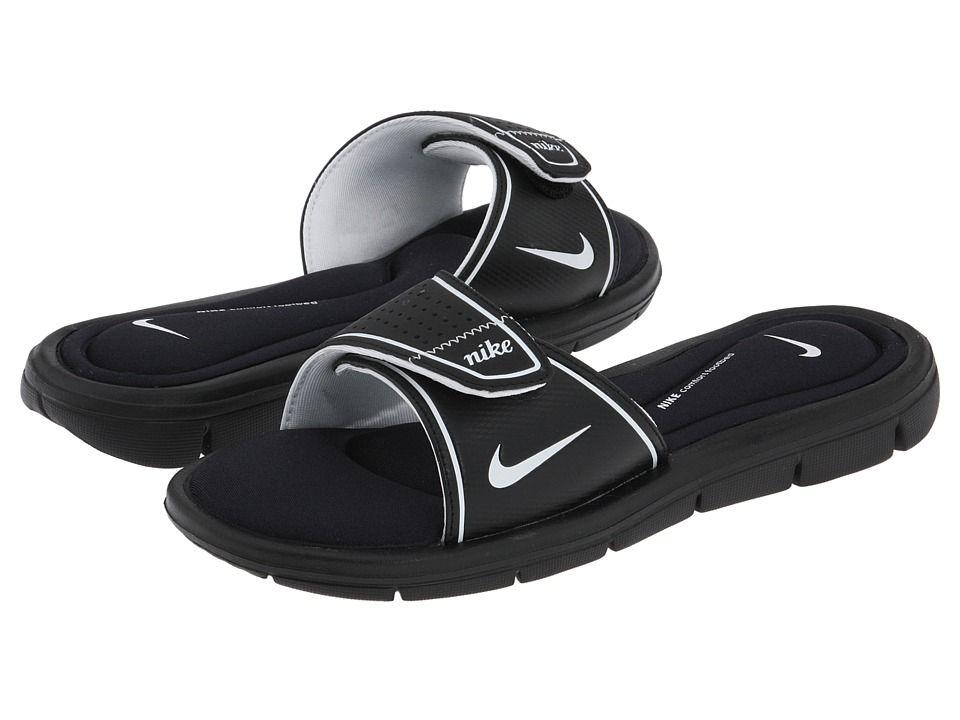 Nike - Comfort Slide (black/white