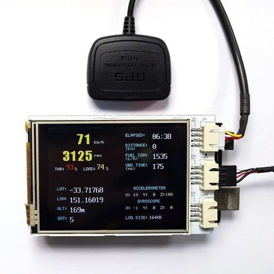Freematics – OBD-II Telematics Advanced Kit (Arduino MEGA) | Arduino ...