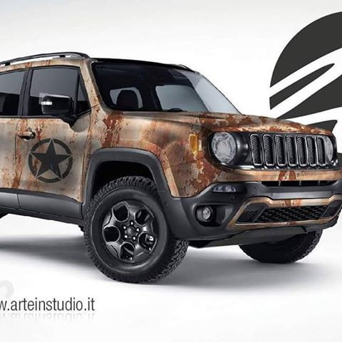 Bildergebnis Fur Jeep Renegade Wrapping Jeep Renegade Jeep Suv