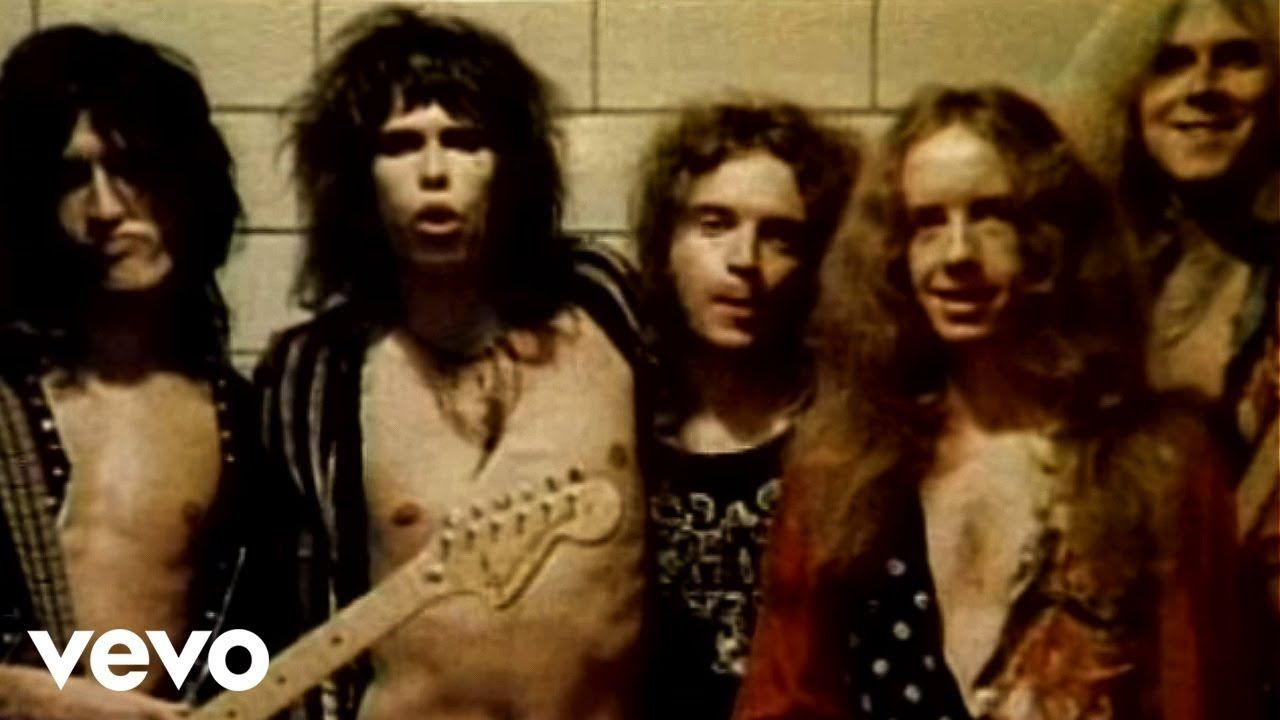 Half My Life S In Books Written Pages Lived And Learned From Fools And From Sages You Know It S True All The Things Come Aerosmith Music Videos Live Video