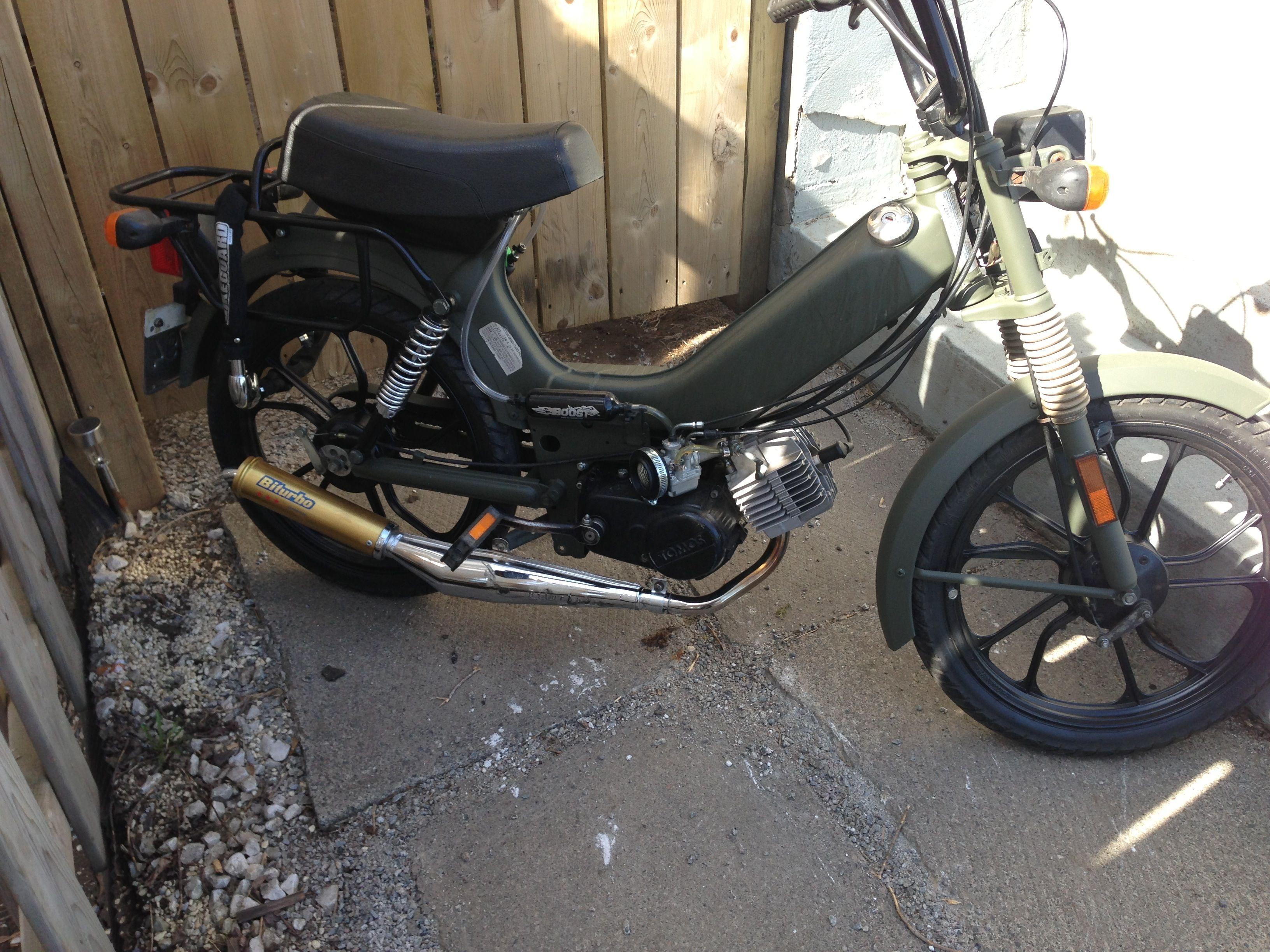01 Tomos moped   70 cc big bore, 21 mm intake with 17 mm