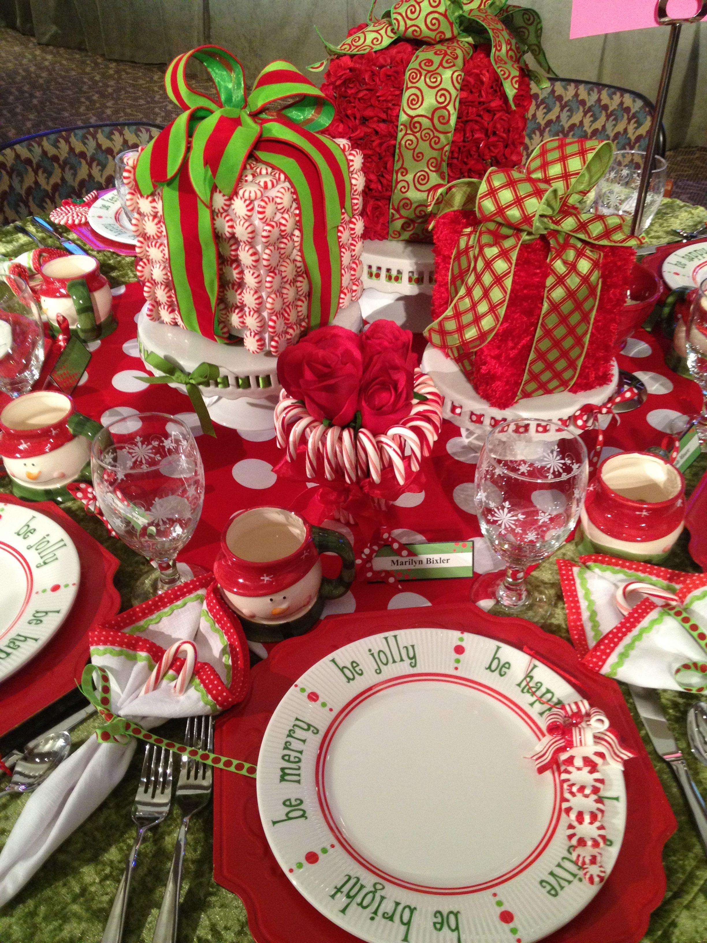 Fun Christmas Table Decorations Christmas Tea Christmas Luncheon Christmas Table Decorations