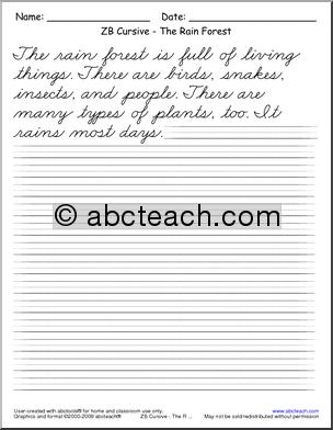 Cursive Practice Sentences - Laptuoso
