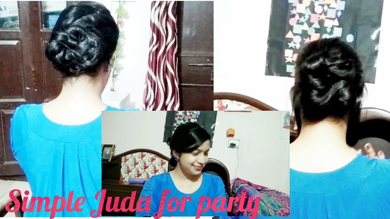 Hairstyle For Party In Hindi Hairstyle New Simple Hairstyle Easy Party Hairstyles Party Hairstyles