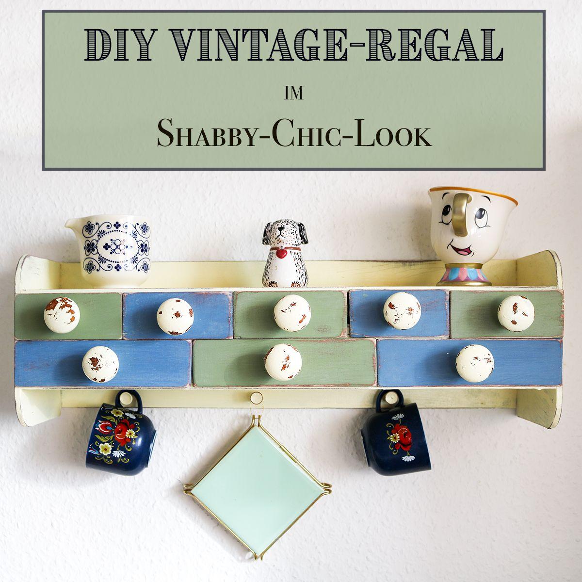 DIY-Küchenregal im Vintage Look | Vintage