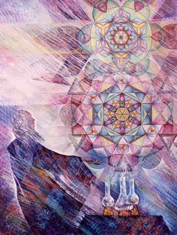 Components of the Flower of Life have been a part of the work of Alchemists. Metatron's Cube is a symbol derived from the Flower of Life which was used as a containment circle or creation circle