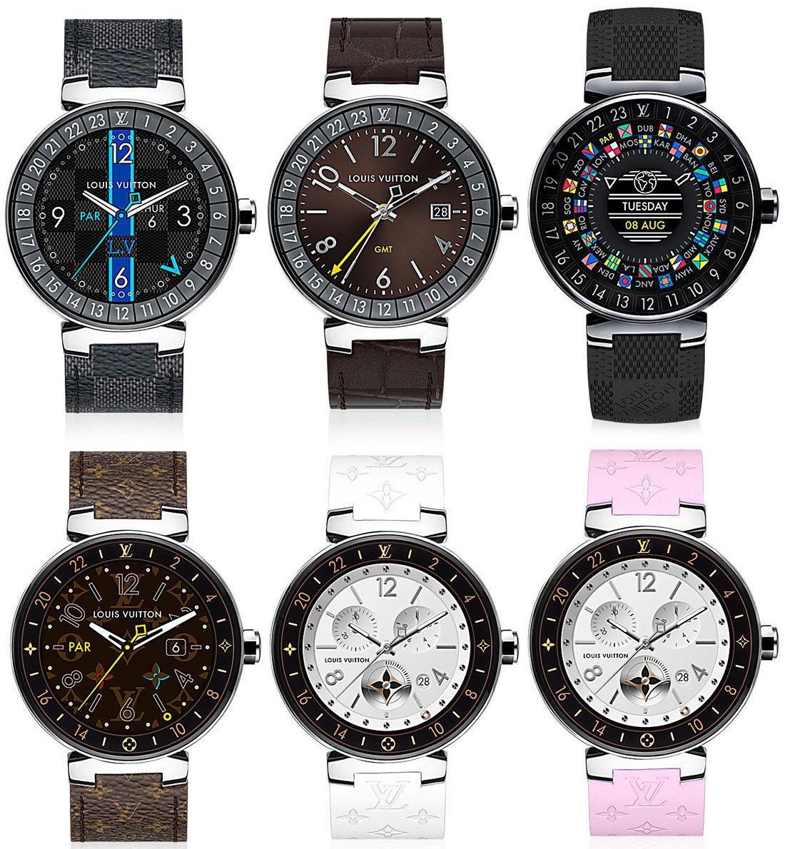 6e37d5676466 Louis Vuitton Tambour Horizon Smartwatch