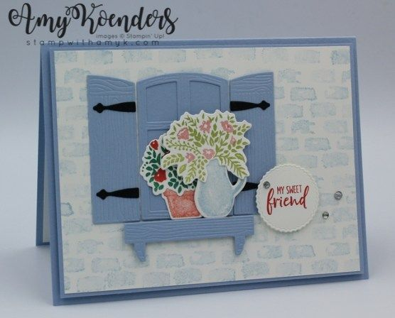 Stampin' Up! Welcoming Window for Fab Friday