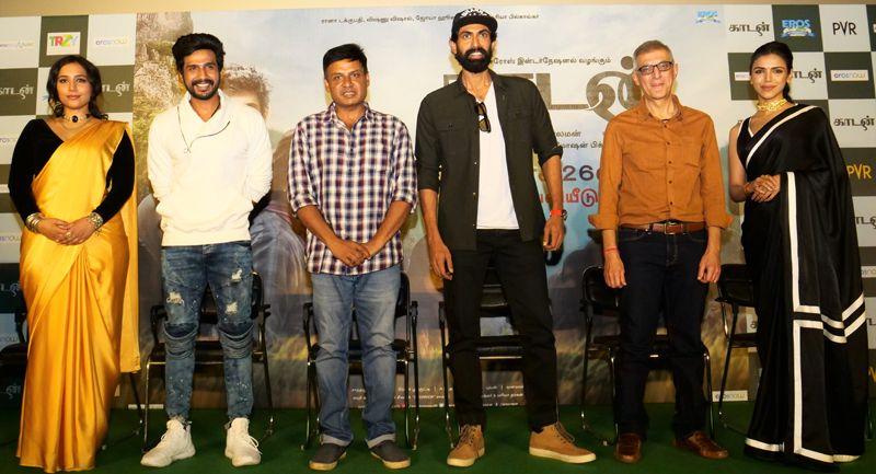Vishnu Vishal, Rana Daggubati Speech @ Kaadan Movie Press Meet