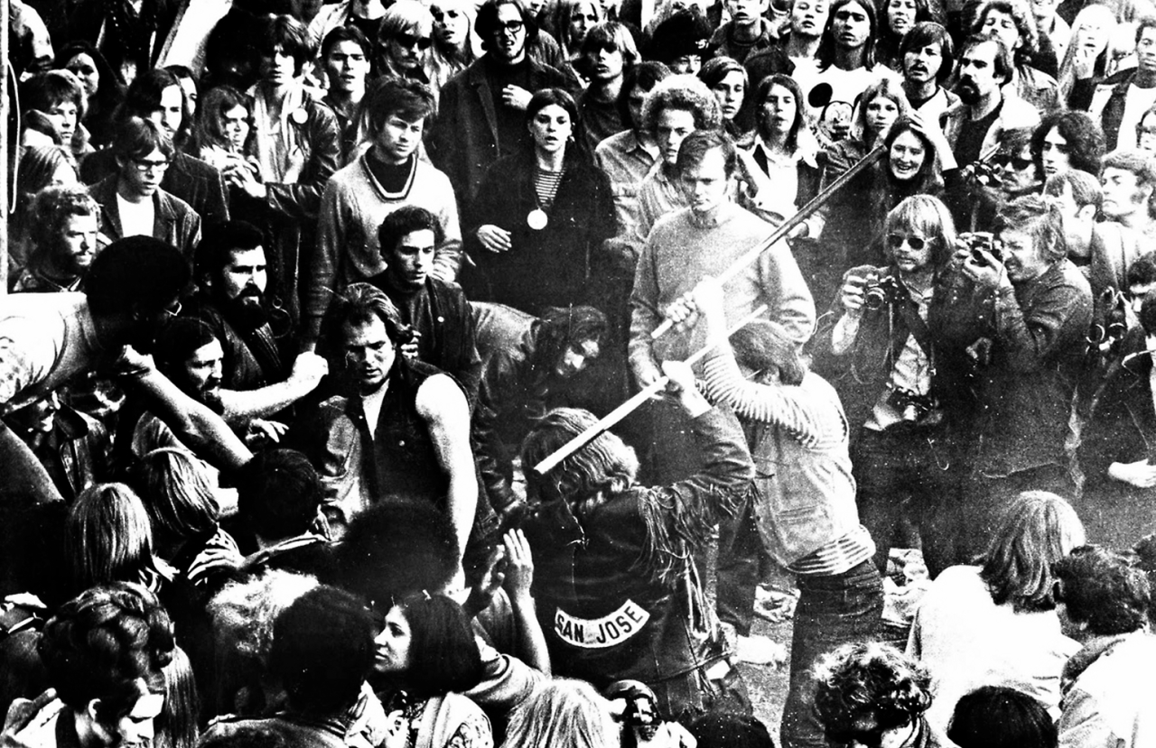 Image result for four people die at a rolling stones concert in 1969