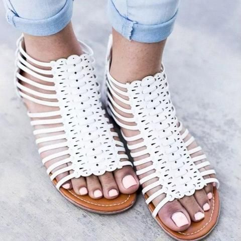 Pin On Flat Sandals